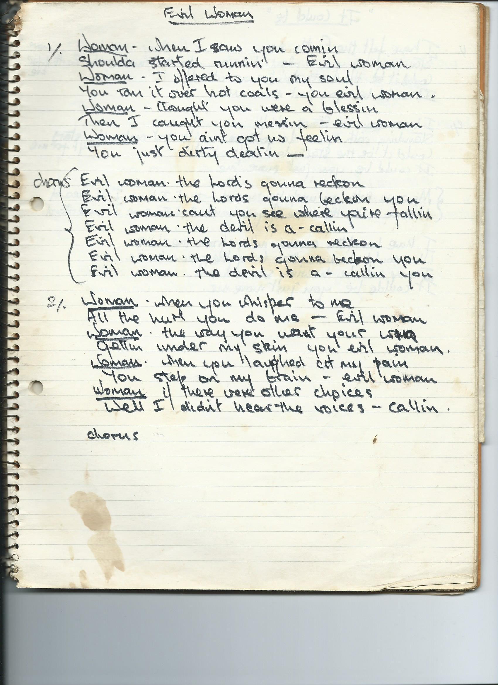 Jackie Lomax Lyrics Archive